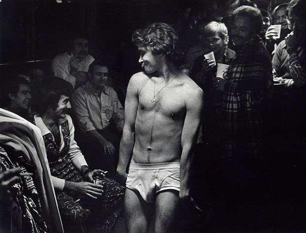 同性戀油輪派對,1973 年攝。(圖/言人文化提供)