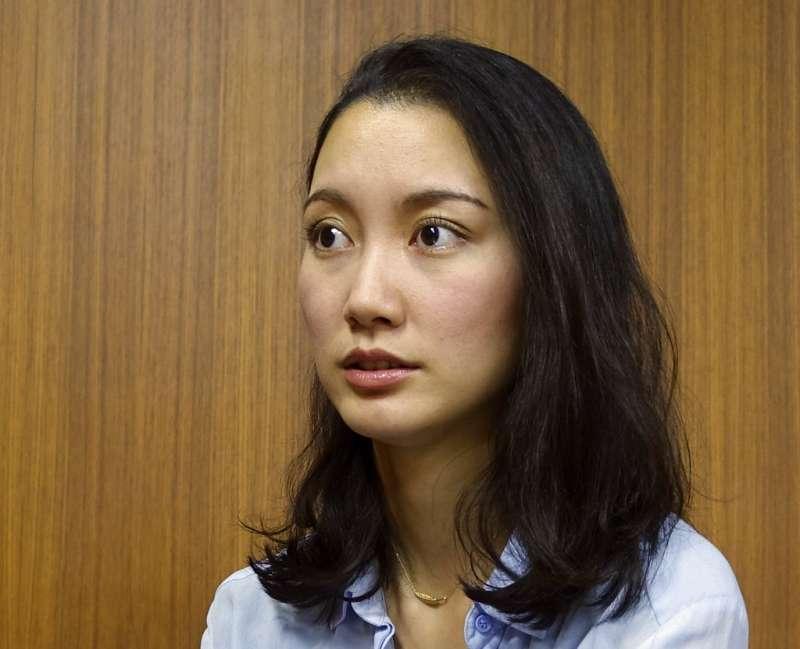 日本女記者伊藤詩織。(美聯社)
