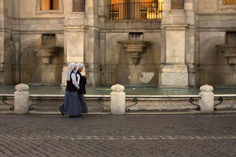 受訪的不具名修女認為,女性的價值在教會中仍然不受重視。(Evelyn Hill@flickr/CC BY 2.0)