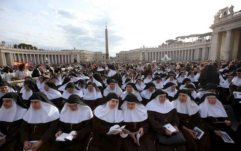 梵蒂岡官方媒體《羅馬觀察報》旗下月刊《女性.教會.世界》揭露許多天主教修女遭到剝削(美聯社)