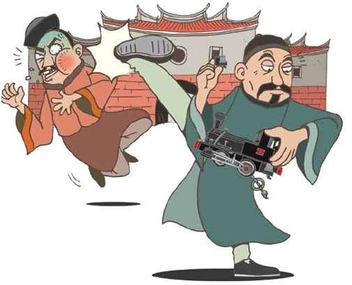 劉銘傳與劉璈。(圖/MarcoChen繪製 故事提供)