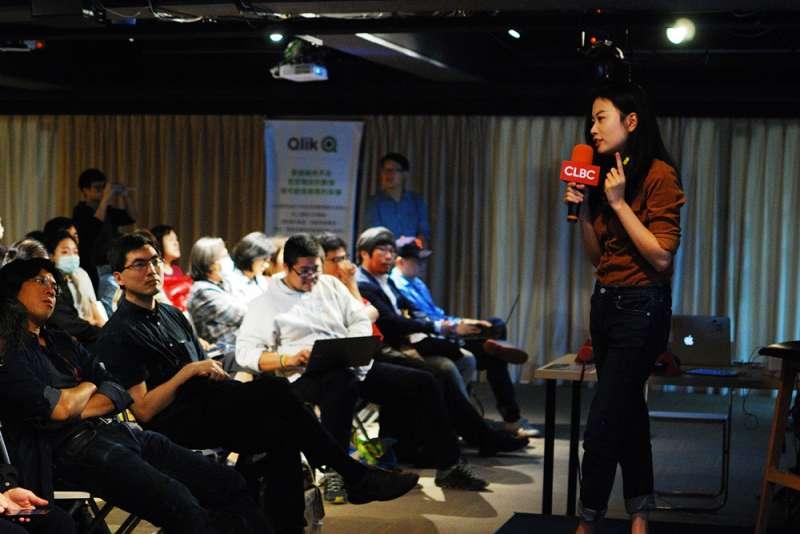20180304-中國記者趙思樂、香港學者邢福增出席世界微光「中國地下教會與維權律師」講座(柯智元攝影;世界微光提供)