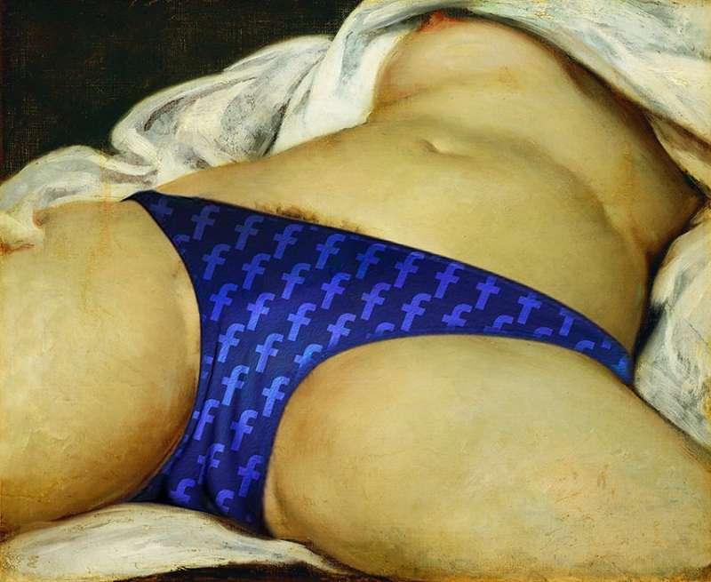 《世界的起源》– 古斯塔夫.庫爾貝作品與現代審查制度 (The origin of the world – The work of Gustave Courbet and modern censorship) (圖/John Beckley提供)