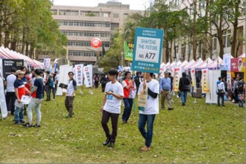 新竹市首場就業博覽會,將在明(10)日於國立交通大學舉行,提供逾1萬8千個工作職缺也創下歷年來之最。(新竹市政府提供)