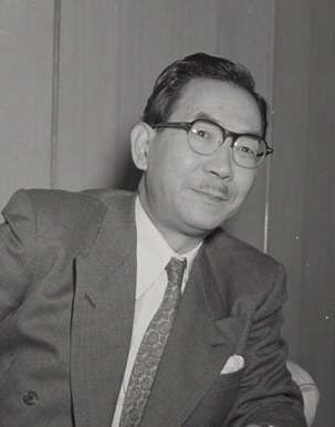 日本前首相三木武夫。(取自維基百科)