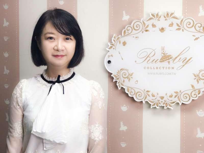 露比午茶創辦人兼總經理洪怡芳(圖/露比午茶提供)