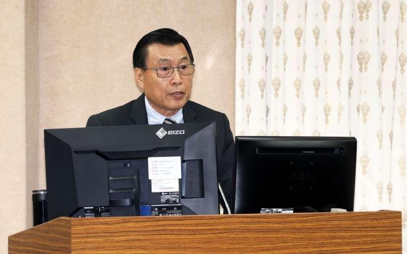 20180319-立法院外交國防委員會,國安局長彭勝竹。(蘇仲泓攝)