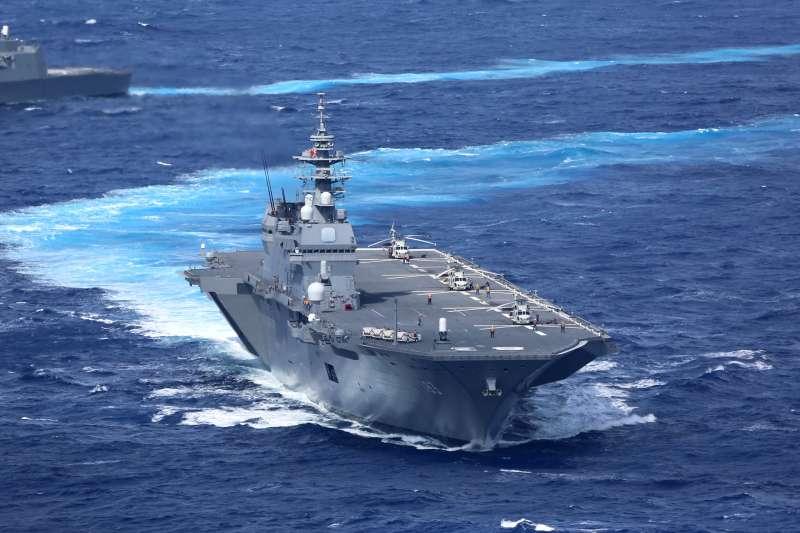 日本海上自衛隊直昇機護衛艦「出雲號」(Kaijō Jieitai@Wikipedia / CC BY 4.0)