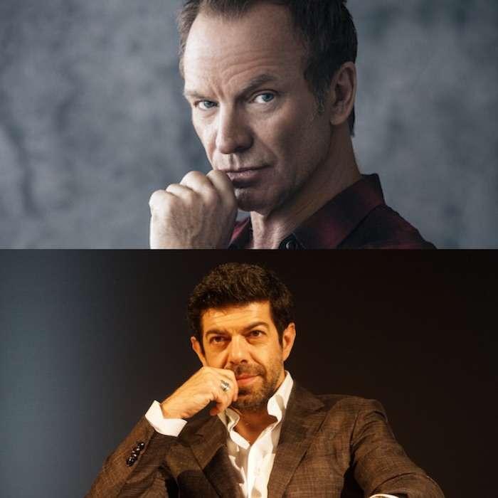 音樂主題創作Sting和演員Pierfrancesco Favino