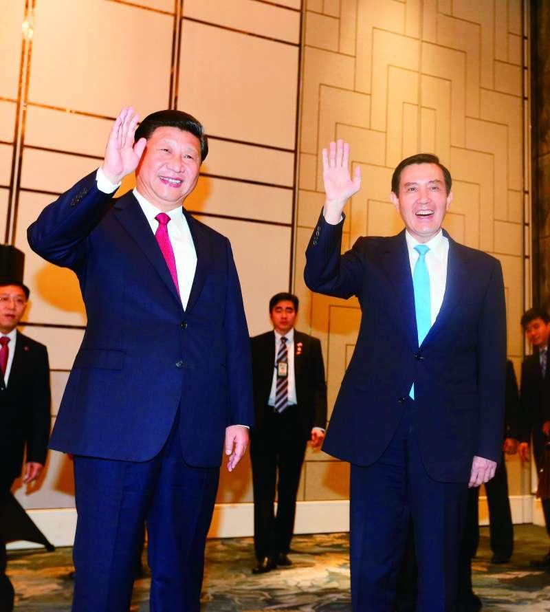 馬習會的檔案問題,近日在台北政壇引發不小風波。(林瑞慶攝)