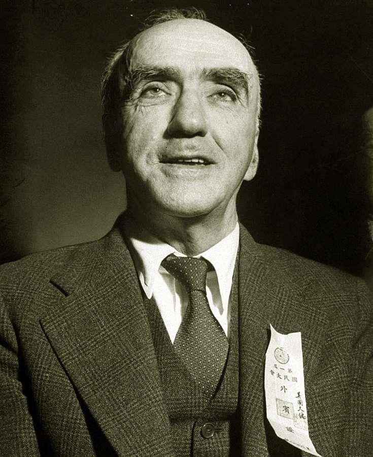 司徒雷登。(取自維基百科)