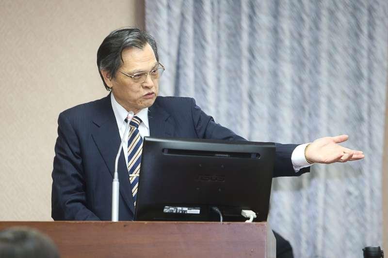 20180321-立法院,行政院大陸委員會主任委員陳明通,上任後首度接受立法院備詢。(陳明仁攝)