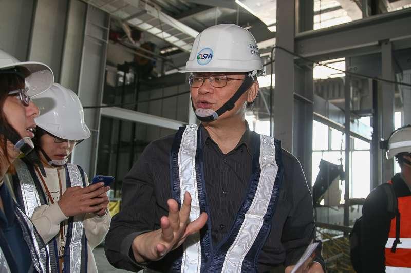 勞動部職業安全衛生署長鄒子廉(陳明仁攝)