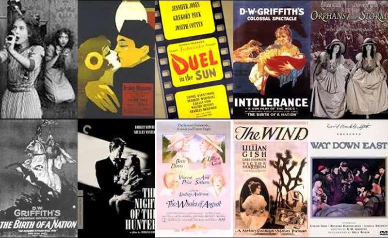 Lillian Gish經典作品集合。(圖/言人文化提供)