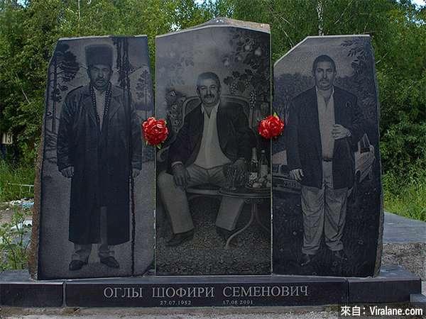 俄羅斯黑幫連死後都霸氣十足。(圖/言人文化提供)