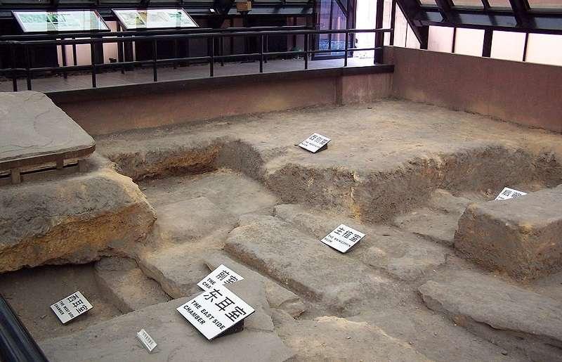 南越王墓實景。(維基百科)