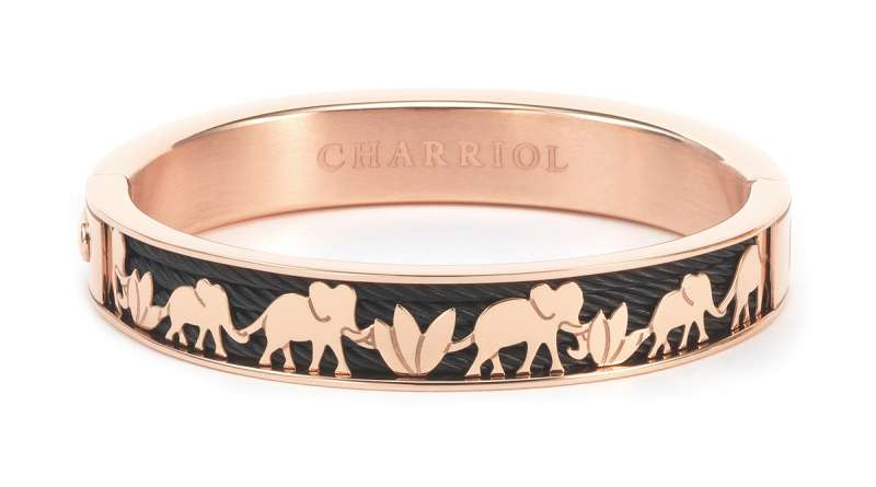 $14,500--FOREVER Elephant   bangle(圖/夏利豪提供)