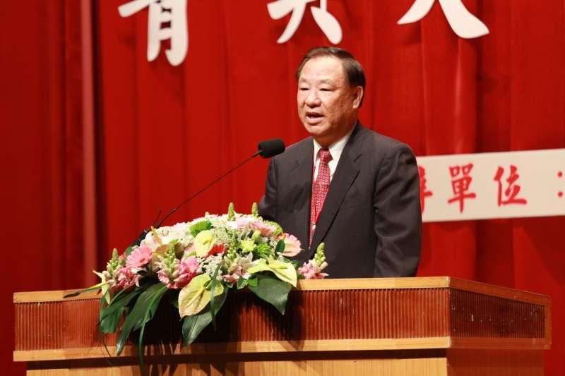 20180329-救國團107年青年節表揚大會,中國青年救國團主任葛永光致詞。(陳韡誌攝)