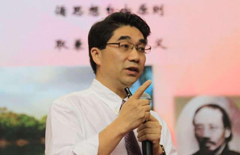 北大教授李沉簡。(新浪教育)