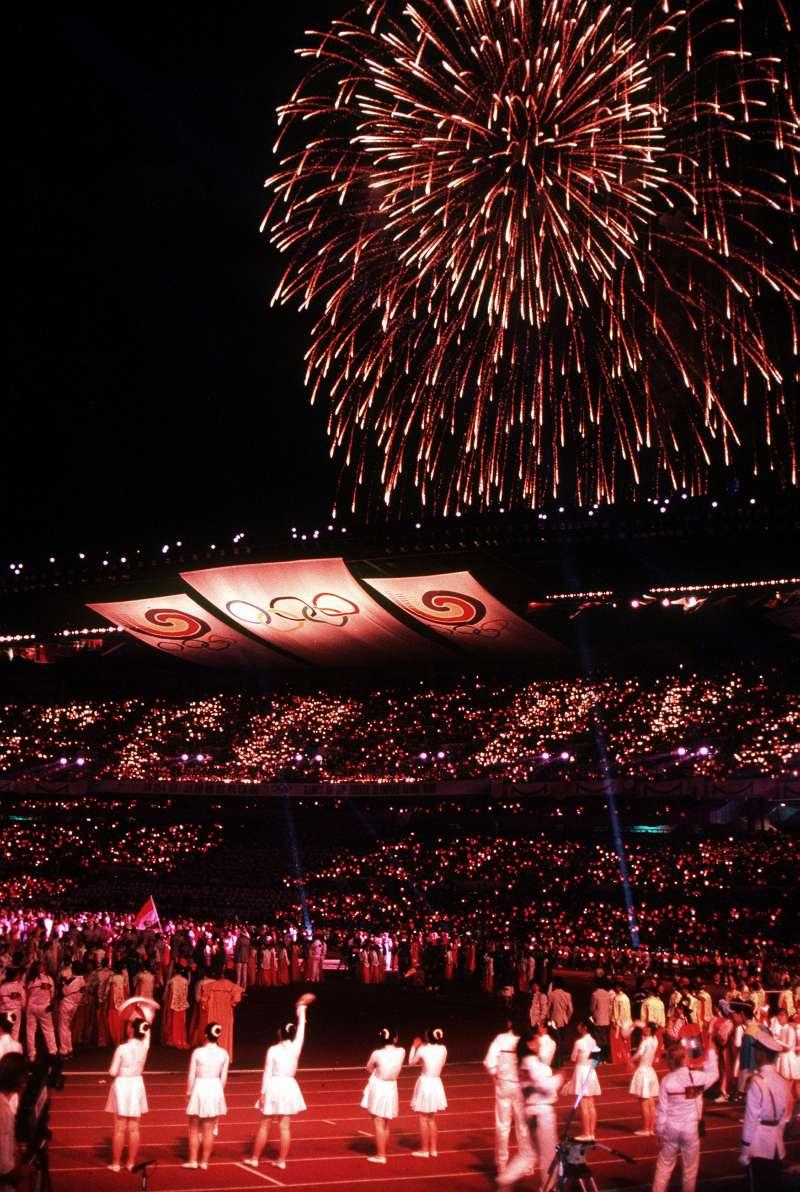 1988年舉行的漢城奧運閉幕式。(Wikipedia / Public Domain)