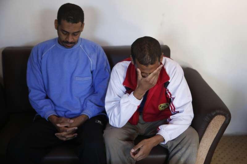恐怖組織「伊斯蘭國」「披頭四」成員寇提(左)與艾爾沙伊赫(右)(美聯社)