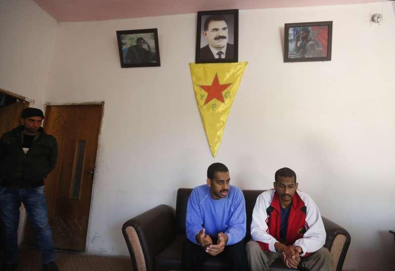 恐怖組織「伊斯蘭國」「披頭四」成員寇提(左)與艾爾沙伊赫(右)表示並不後悔加入伊斯蘭國(美聯社)