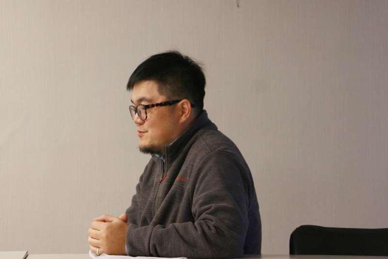 媽媽嘴老闆呂炳宏接受專訪,道出5年前被指為「殺人犯」的10天如何改變他一生(陳韡誌攝影)