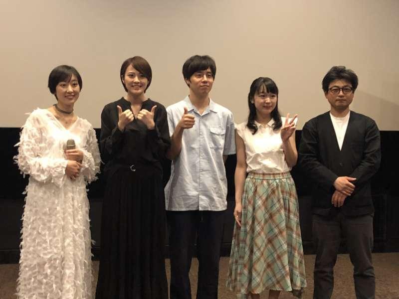 電影《愛與別離的夏威夷》導演與演員到台灣和影迷見面。((攝/蔡昀暻)