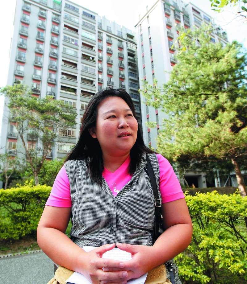 張淑惠說,人民期望的新氣象不只是年輕,而是真實解決問題。(郭晉瑋攝)