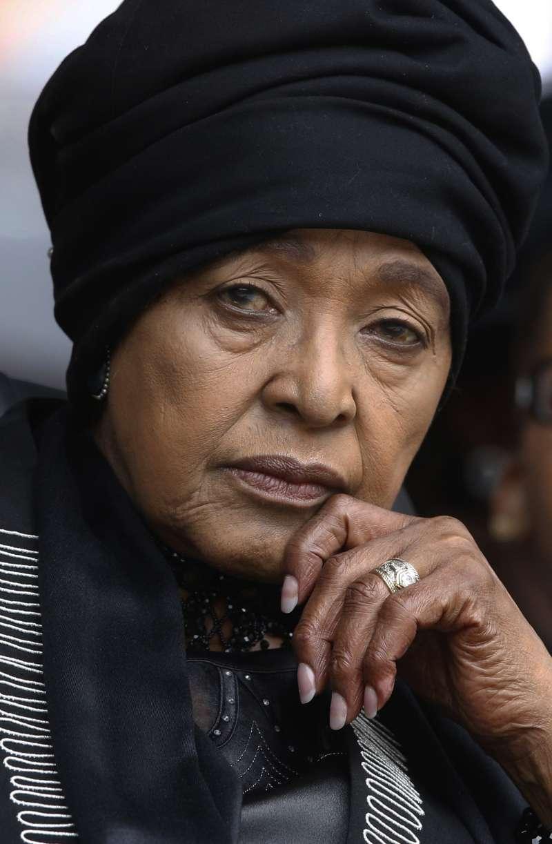 南非國母、曼德拉前妻溫妮(AP)
