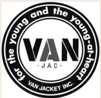 20180406-VAN Jacket商標。(©VAN Jacket Inc.,作者提供)