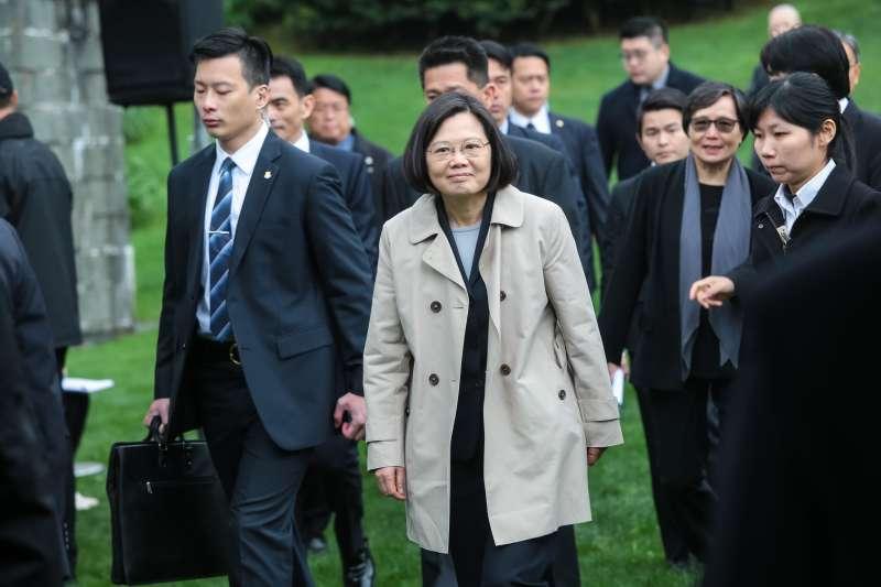 20180407-總統蔡英文7日出席「鄭南榕殉道29周年追思紀念會」。(顏麟宇攝)