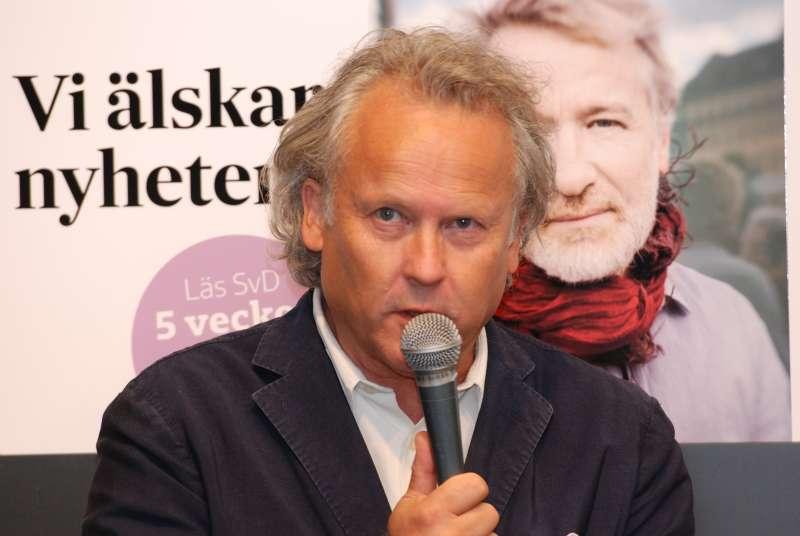 瑞典學院院士奧斯特格倫(Klas Östergren)。(Mattias Blomgren@Wikipedia / CC BY-SA 4.0)