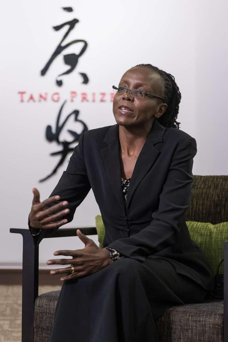 Barbara Burmen博士是肯亞籍女醫師及公共衛生研究員,長期投入愛滋病毒與肺結核病毒研究。(uStory有故事提供)