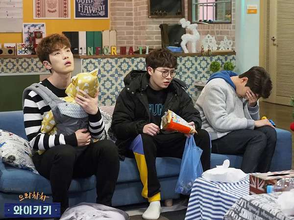 JTBC《加油吧威基基》劇照。(圖/澎湃新聞提供)