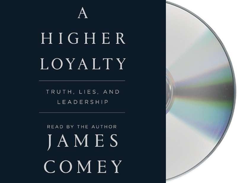 美國聯邦調查局(FBI)前任局長柯密(James Comey)的回憶錄《更高的忠誠:事實、謊言與領導》(A Higher Loyalty: Truth, Lies, and Leadership)(Amazon)