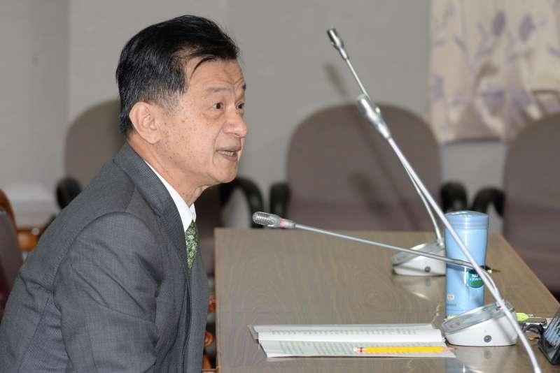 20180416-立法院司法及法制委員會,法務部長邱太三。(甘岱民攝)