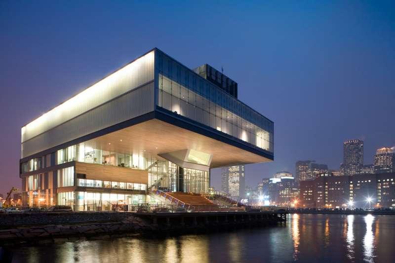 波士頓當代美術館外觀。(圖/取自Wikipedia,非池中藝術提供)