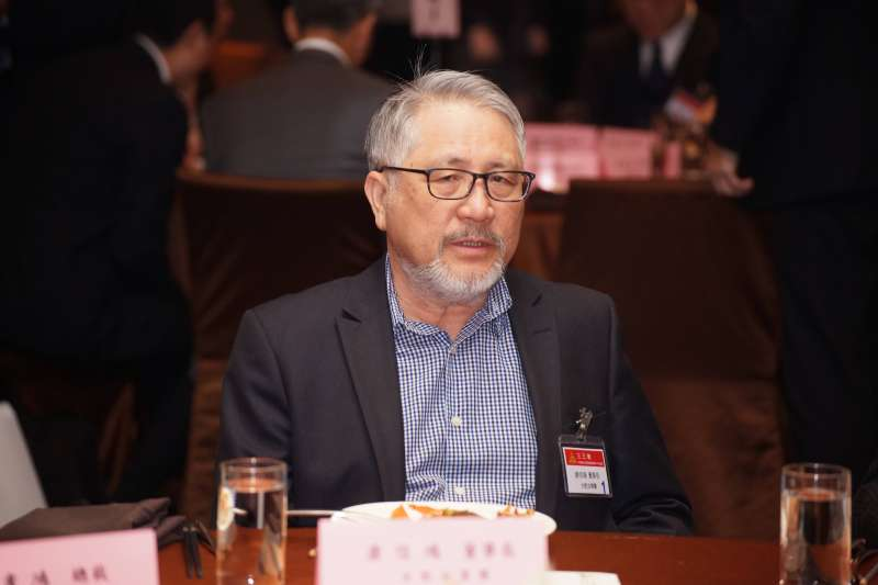 20180418-三三會四月份例會,台肥董事長康信鴻出席。(盧逸峰攝)