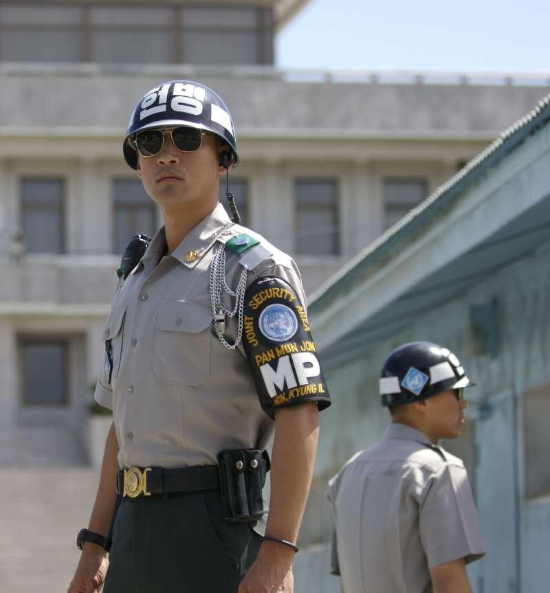 板門店的南韓憲兵(Wikipedia / Public Domain)
