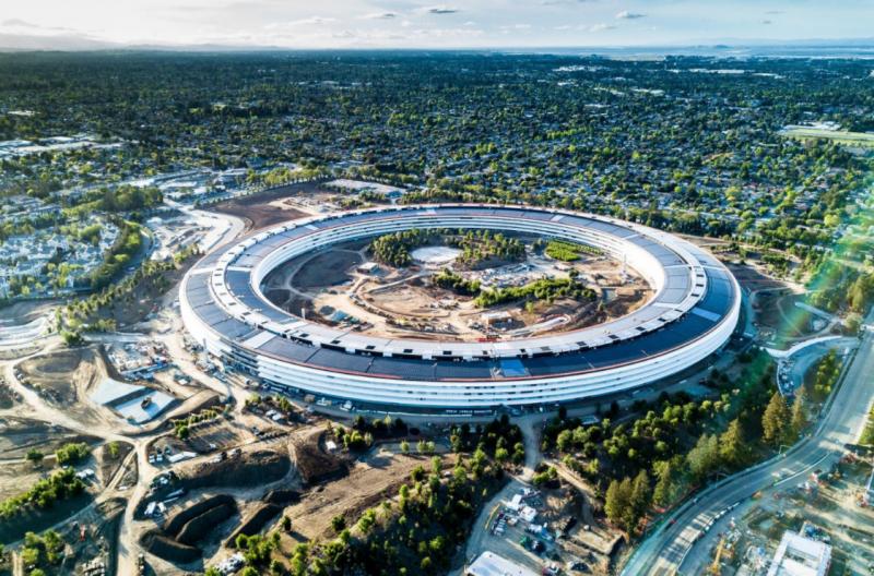 蘋果表示,目前全球43國的零售店、辦公室、資料中心、公共設施,已經達到100%使用可再生能源。
