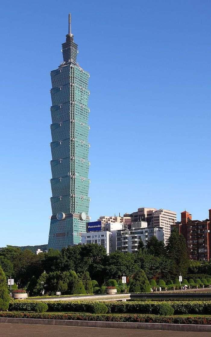 台北101大樓。(圖/取自維基,愛范兒提供)