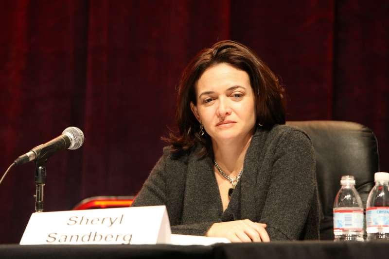 臉書營運長桑德伯格(Sheryl Sandberg )。(TechCrunch50-2008@Flickr/CC BY 2.0)