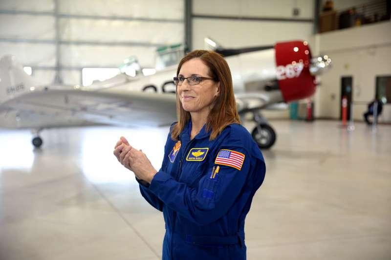 從田徑場到在空中翱翔,麥克莎莉傾訴自己的#MeToo故事。(Gage Skidmore@Flickr/CC BY-SA 2.0)