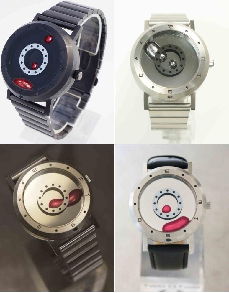 手錶設計採簡約路線。(圖/翻攝自 Village Vanguard,智慧機器人網提供)