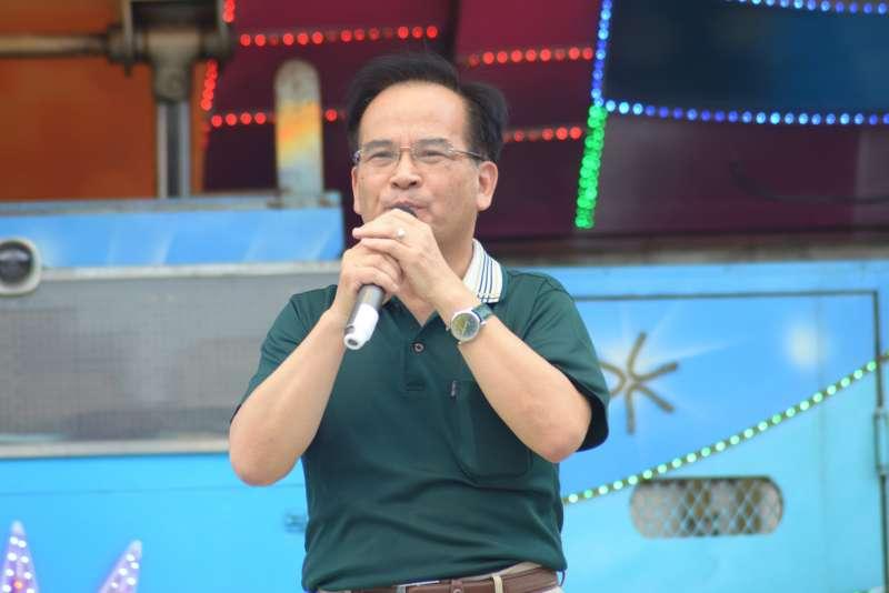 20180505-「55支持陪審大遊行」,台北市長參選人蘇煥智。(甘岱民攝)