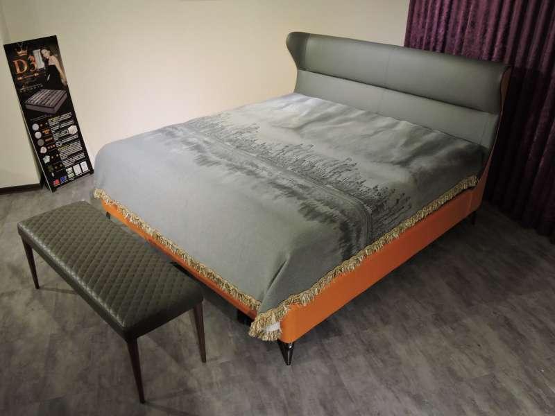 重視品質和服務讓大漢家具的回購率高達 80%,客製化床墊尤其熱賣(圖/好優數位提供)