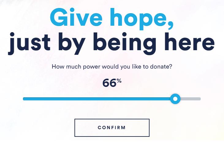 澳洲聯合國兒童基金會用「挖礦」想出募款新招,訪客只要在網頁上停留、貢獻部分電腦運算能力,不出一分錢就能捐款給弱勢兒童,至今已有超過6千人在官網上用此方式捐款。(圖/The Hopepage)