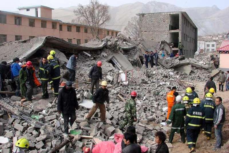 中國四川汶川大地震十周年,官方訂感恩日遭抨擊(AP)