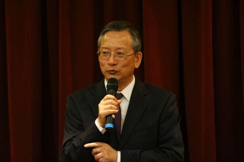 20180508-檢察總長交接典禮,司法院秘書長呂太郎出席。(陳韡誌攝)